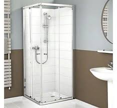 corner entry shower enclosure right and left hand door panel packs