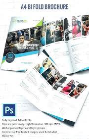 Leaflet On Word Bi Fold Brochure Word Template Free Lovlyangels Com