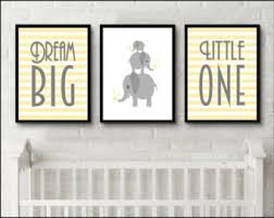 >nursery wall art owl nursery decor kids decor kids wall art dream big little one print elephant prints new baby print nursery artwork inspirational children s art print birthday gift idea