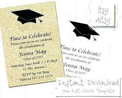 Graduation Invitations Templates And Blank Graduation Invitations