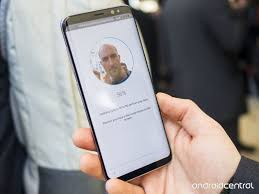 Galaxy Iris On Scanning Face To Android Central How Unlock Enable S8 And The