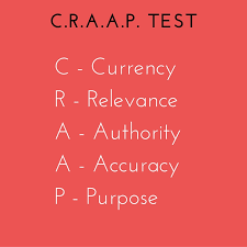 Craap Test Craap Test Evaluating Information Library Resources For