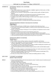 Product Engineer Resume Product Senior Engineer Resume Samples Velvet Jobs 19