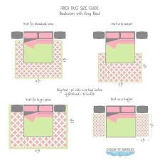 rug size for king bed area rug size guide king bed top right king size bed rug size for