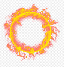 transpa fire ring png png