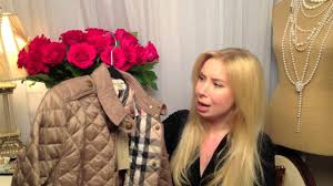 Burberry Diamond Quilted Jacket, Fall Trends - YouTube &  Adamdwight.com