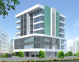 Office building design architecture Architectural Commercial Building Parle Mumbai Vsk Architects Architectural Digest Commercial Building Parle Mumbai Vsk Architects School Building