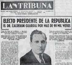 Resultado de imagen para biografía de Rafael Angel Calderón Guardia