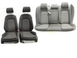 image is loading vw passat b6 saloon black cloth interior seats