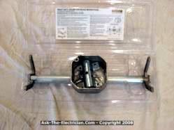 ceiling fan box. ceiling fan spanner box bracket