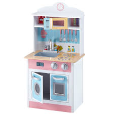 Play Kitchen Teamson Kids My Little Chef Pastel Small Play Kitchen Reviews