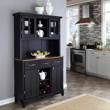 wine storage cabinet black