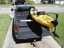 Low profile kayak rack for a truck DIY part 1 - YouTube
