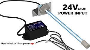 24 Volts Power Input! Pureuv 14