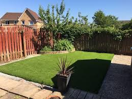 artificial grass lawn installation livingston west lothian