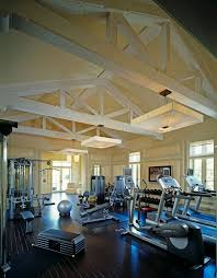 gym lighting design. awesome exercise equipment decorating ideas for arresting home gym traditional design with ceiling lighting dark g