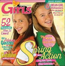 Teen magazine hair tips