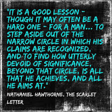 Nathaniel Hawthorne Quotes Adorable Nathaniel Hawthorne The Scarlet Letter Musings Literary