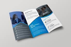 Company Catalog Design Templates Paris Creative Tri Fold Brochure Design Template