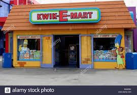 kwik e mart the simpson s ride universal studios california