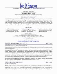 Objective For Lpn Resumes Lpn Resume Sample New Graduate Lpn Resume Sample New
