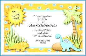 free dinosaur party invitations dinosaur birthday invites image 0 invitations walmart shixi