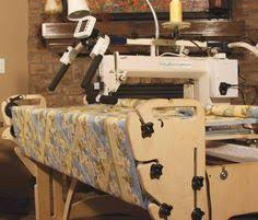 My home made mid-arm quilting frame. Approx. $ amount invested in ... & tin lizzie long arm quilting frames | Red Rooster Quilts Adamdwight.com