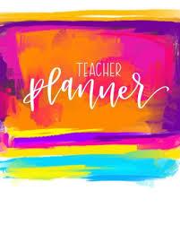 Teacher Organizer Planner Teacher Planner 2019 2020 Weekly Monthly View Organizer Planner Diary Academic Calendar August 1 2019 To July 31 2020 Pink Purple Blue
