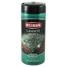 weiman granite wipes 30ct