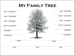 Reasonable Four Generation Pedigree Chart Template