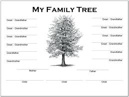 Blank Family Tree 4 Generations Reasonable Four Generation Pedigree Chart Template