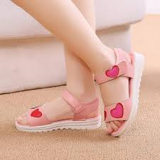 girls leather sandals 2018 new style children korean style princess shoes big kid little girl baby
