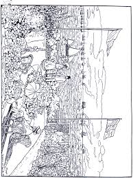 Small Picture Monet Art coloring pages