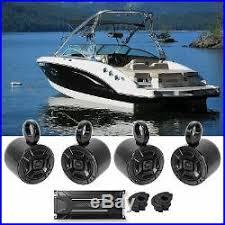 wakeboard tower speakers tower 4 polk audio marine boat wakeboard tower speakers alpine 4 channel amplifier