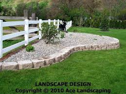 Rock Flower Bed Edging Borders Cute Rocks With Plus Your Along Also Large  Size Of Serene Ideas River