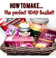 how to make a vday basket since valentine s