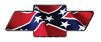 chevy logo with rebel flag. Wonderful Flag Chevy Bowtie Chevrolet Rebel Confederate Flag Diamond Decal Sticker On Chevy Logo With Rebel Flag B