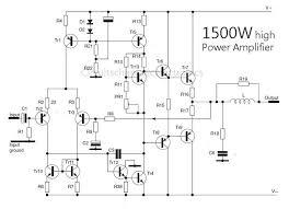 1500 watt high power amplifier amp circuit diagram amplifier 1500 Watt Power Inverter Wiring Diagram 1500 watt high power amplifier amp circuit diagram amplifier pinterest circuit diagram, audio and audio amplifier 1500 watt power inverter circuit diagram