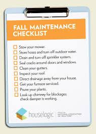 Fall Home Maintenance Checklist To Get Your Home Ready For Winter Rh  Houselogic Com