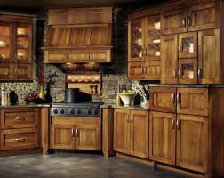 photos of hickory kitchen cabinets