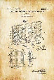 Sample Battleship Game Simple Battleship Game Patent Patent Print Board Game Art Board Etsy