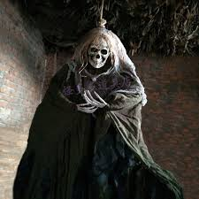 165cm <b>Halloween Hanging Ghost Haunted</b> House Escape Horror ...