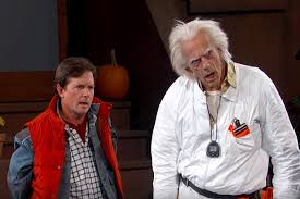 'Back to the Future' Reunion: Michael J. Fox, Christopher Lloyd Tell ...