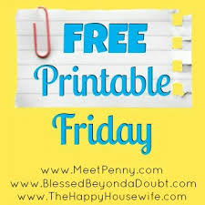 Football Scoring Sheet Free Printable Friday The Happy Housewife