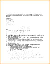 Resume Guidelines - Pelosleclaire.com