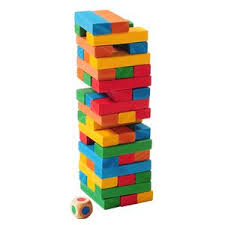How To Play Tumbling Tower Wooden Block Game Backpack Tumbling Tower Game I Outside Inside Gifts and Games 30