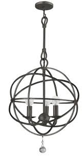 brilliant round light fixture big round lighting fixtures put traditional chandeliers in a