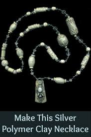 you ll love making the above silver polymer clay necklace and 4 other polymer clay jewelry projects in this free ebook clayjewelry diyjewelry