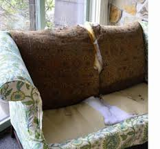 how to reupholster a sofa or couch