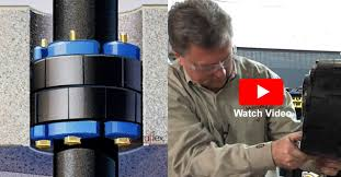Metraseal Rubber Mechanical Pipe Penetration Seal